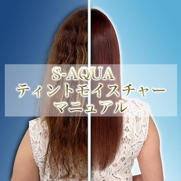 S-AQUA ティントモイスチャー マニュアル